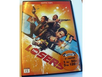 DVD FILM THE LOSERS