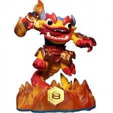 Wii PS3 PS4 mm Skylanders Swap Force Skylander Figur - Fire Kraken - Uddevalla - Wii PS3 PS4 mm Skylanders Swap Force Skylander Figur - Fire Kraken - Uddevalla