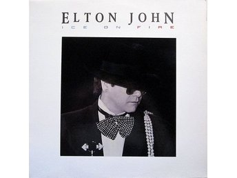 LP Elton John Ice on fire