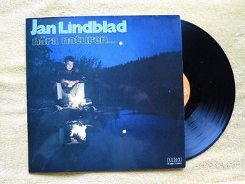 JAN LINDBLAD - LP -  Nära Naturen
