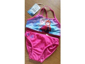 Bikini Barn Badkläder - Frozen Stl. 110/122 Disney - Ystad - Bikini Barn Badkläder - Frozen Stl. 110/122 Disney - Ystad