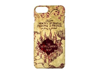 Harry Potter Marauders Map iPhone 8 PLUS Skal