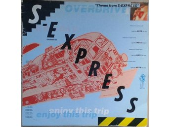 "S-Express title* Theme From S-Express* Acid House 12"" UK"