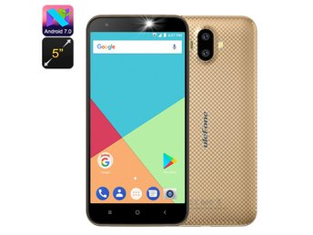 Ulefone S7 Android Smartphone - Quad-Core CPU, Dual-IMEI, 5-Inch Display, 3G, An