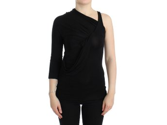Cavalli - Black one sleeve top