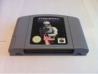 N64: Star Wars: Shadows of the Empire (Enbart Kassett)