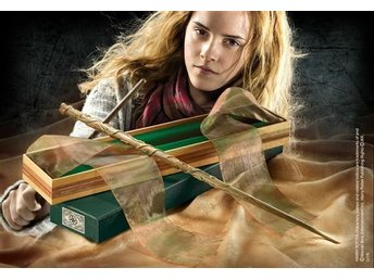 Harry Potter Hermione Dumbledore Trollstav Wand Noble Collection