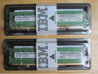2 x 4GB DDR3-1333 PC3-10600 512Mx72 CL9 1.5V ECC Server DIMM