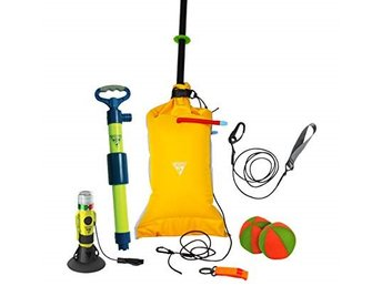 SEATTLE SPORTS DELUXE SAFETY KIT länspump, flottör, paddel leash, lanterna mm
