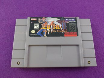 SNES Lufia II 2 Rise Of The Sinistrals NTSC USA