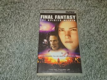 Final Fantasy - The spirits within PSP UMD film