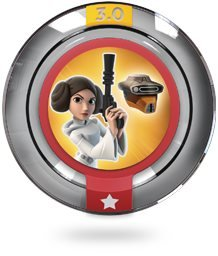 PRINCESS LEIA BOUSHH DISGUISE Power Disc Star Wars - Disney Infinity 3.0