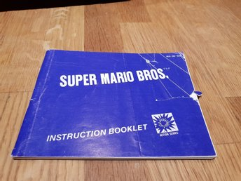 Super Mario Bros SCN Manual Nintendo 8-bit NES