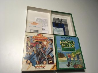 Amiga spel The famous five (RARE) och pioneer plague