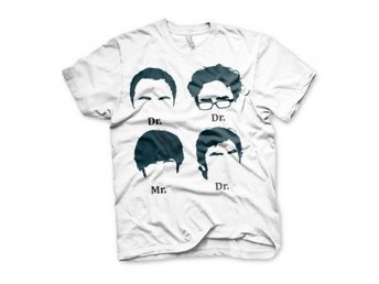 Big Bang Theory T-shirt Prefix Heads XL
