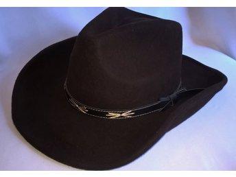 Cowboyhatt Svart Brun - maskerad - hatt (329430908) ᐈ PartyPieces ... 2049265a46b04