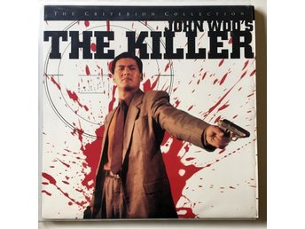 LASERDISC - The Killer Criterion John Woo - Nyskick - Höllviken - LASERDISC - The Killer Criterion John Woo - Nyskick - Höllviken