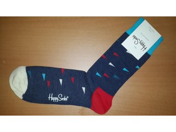 Happy Socks Herr Strumpor Nautical Flags 41 - 46