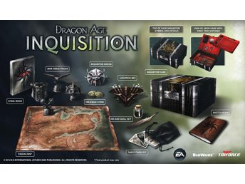 Dragon Age Inquisition Inquisitor Edition PS4 spel *SLUTSÅLT* NYTT o INPLASTAT - Nynäshamn - Dragon Age Inquisition Inquisitor Edition PS4 spel *SLUTSÅLT* NYTT o INPLASTAT - Nynäshamn
