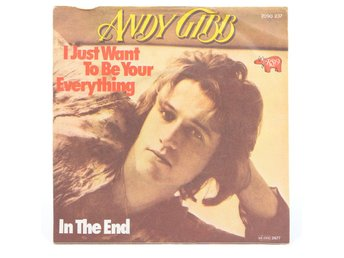 Andy Gibb - I Just Want To Be Your Everything / In The End 2090 237 Singel 1977