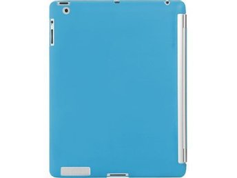 Sanho HyperShield iPad2 skal, passar ihop med Smart Cover, blå