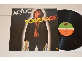 AC/DC - Powerage (Atlantic UK 1978) ***RARE UK TOP***
