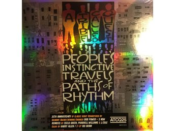 A TRIBE CALLED QUEST - PEOPLES INSTINCTIVE TRAVELS 2-LP 180G GATEFOLD