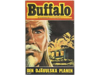 Buffalo Bill 1970 Nr 12 VG/FN - Vikingstad - Buffalo Bill 1970 Nr 12 VG/FN - Vikingstad