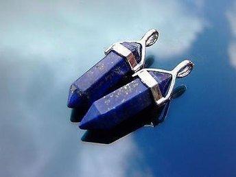 Halsband hänge lapis lazuli pendel goth wicca kristaller 1st - Helsingborg - Halsband hänge lapis lazuli pendel goth wicca kristaller 1st - Helsingborg