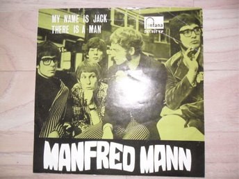 "MANFRED MANN - MY NAME IS JACK / THERE IS A MAN             ""NORSK"""