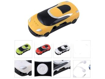 Nytt Mini Car Style USB Digital MP3 Music Player Support Micro SD TF-kort