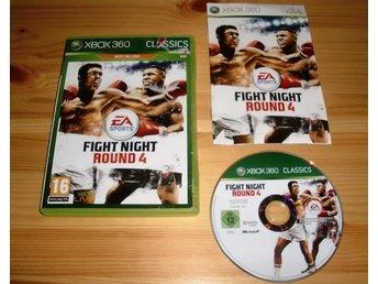 Javascript är inaktiverat. - Karlskoga - Fight Night Round 4- Passar till Xbox 360.- Engelsk text.- Bruksskick. - Karlskoga
