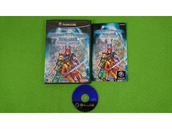 Phantasy Star Online 1 & 2 KOMPLETT Gamecube Nintendo Game Cube