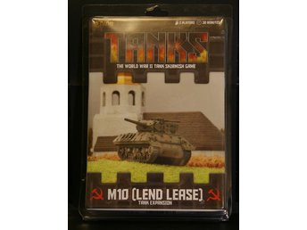 TANKS, The World War II Tank Skirmish Game, M10 (Lend Lease) Expansion