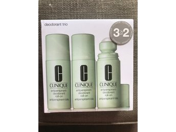 3pack CLINIQUE deodorant roll on -PARFYMFRI