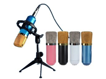 BM700 Condenser Microphone Dynamic Recording with Shock M...