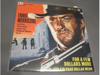 Ennio Morricone Clint Estwood For a few dollars more LP