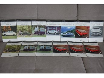 Atlas Edition - Saab Car Museum Collection - Brochures 13x