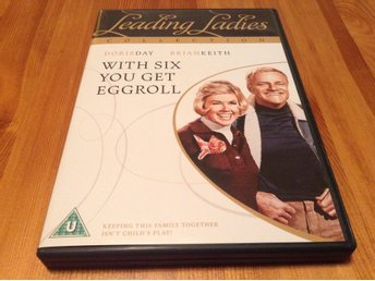 With Six you get eggroll - Doris Day, Brian Keith - Nyskick - Svensk text - DVD