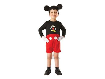 Musse Pigg 110-116cl (5-6 år) Musse-outfit med musöron Disney Mickey Mouse