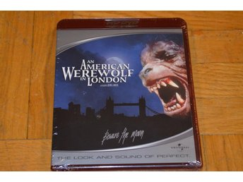 An American Werewolf In London HD DVD Inplastad