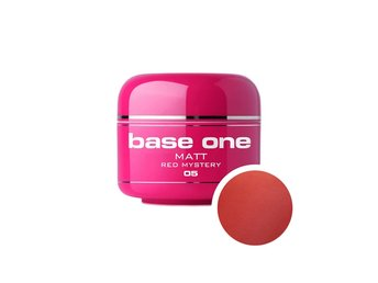 Base one - Matt - Red mystery 5g UV-gel