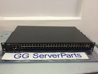 HP 48 Port Serial Console Server AF102A 376581-001 379884-001