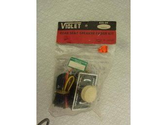 Rear seat speaker fader kit Violet made in Japan
