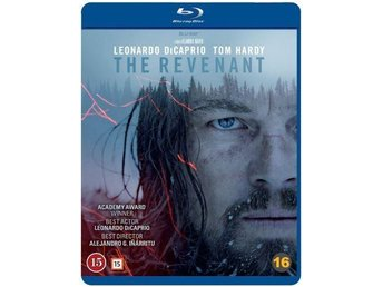 The Revenant Blu-ray Leonardo Dicaprio