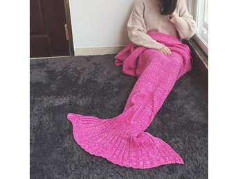 Sjöjungfru filt för vuxna - Rosa. Mermaid tail blanket - Helsingborg - Sjöjungfru filt för vuxna - Rosa. Mermaid tail blanket - Helsingborg