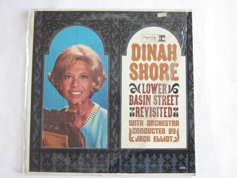 Dinah Shore ?–Lower Basin Street Revisited LP 1965 USA Mono