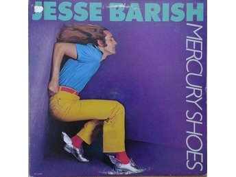 Jesse Barish title*  Mercury Shoes* Rock LP US