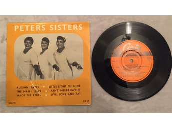 "Peters Sisters - Autumn Leaves 7"" EP"