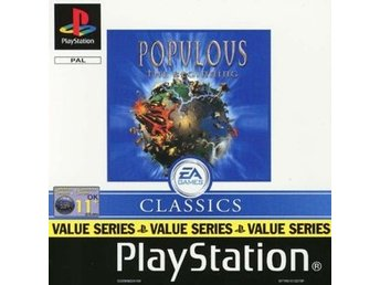Populous The Beginning - Classics - Playstation PS1